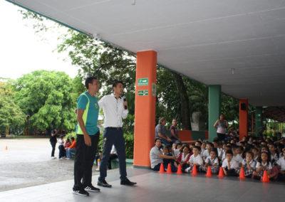 Inauguración Juegos Intercursos